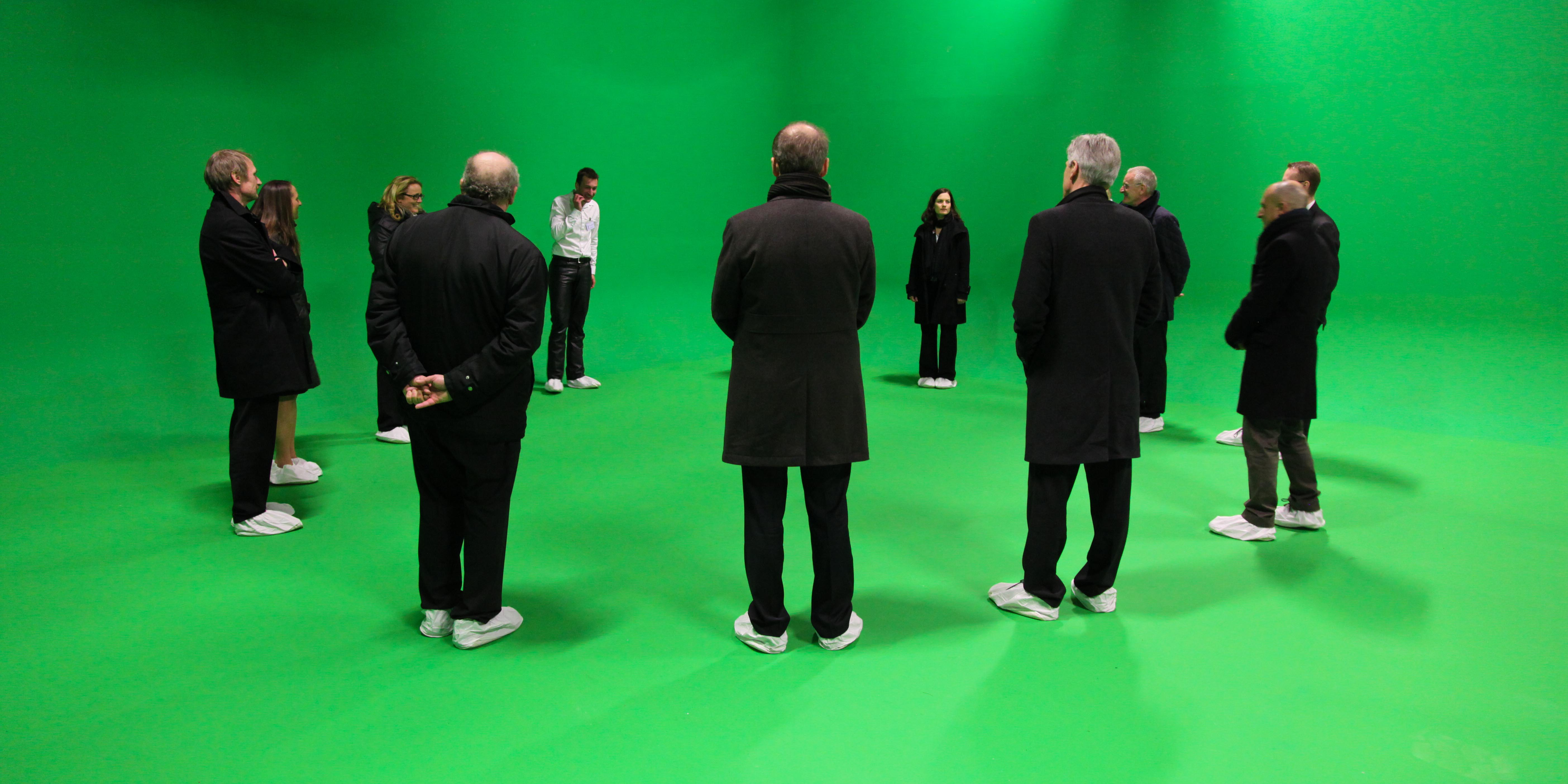 6 Workshop im Greenscreen Studio