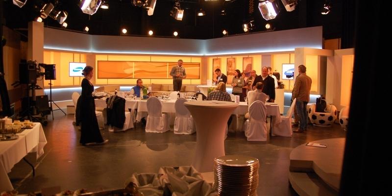Ihre private Feier in TV-Studios