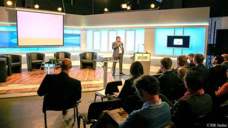 Tagung in TV-Studios - Raum für Ideen