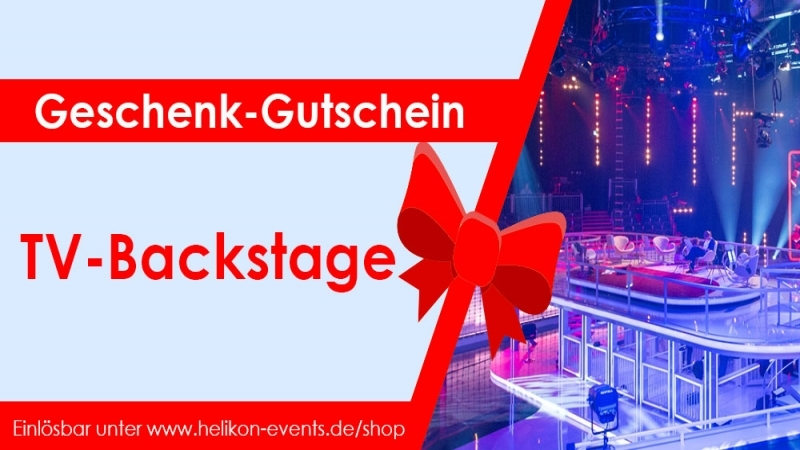 Gift Certificate TV Backstage Tour