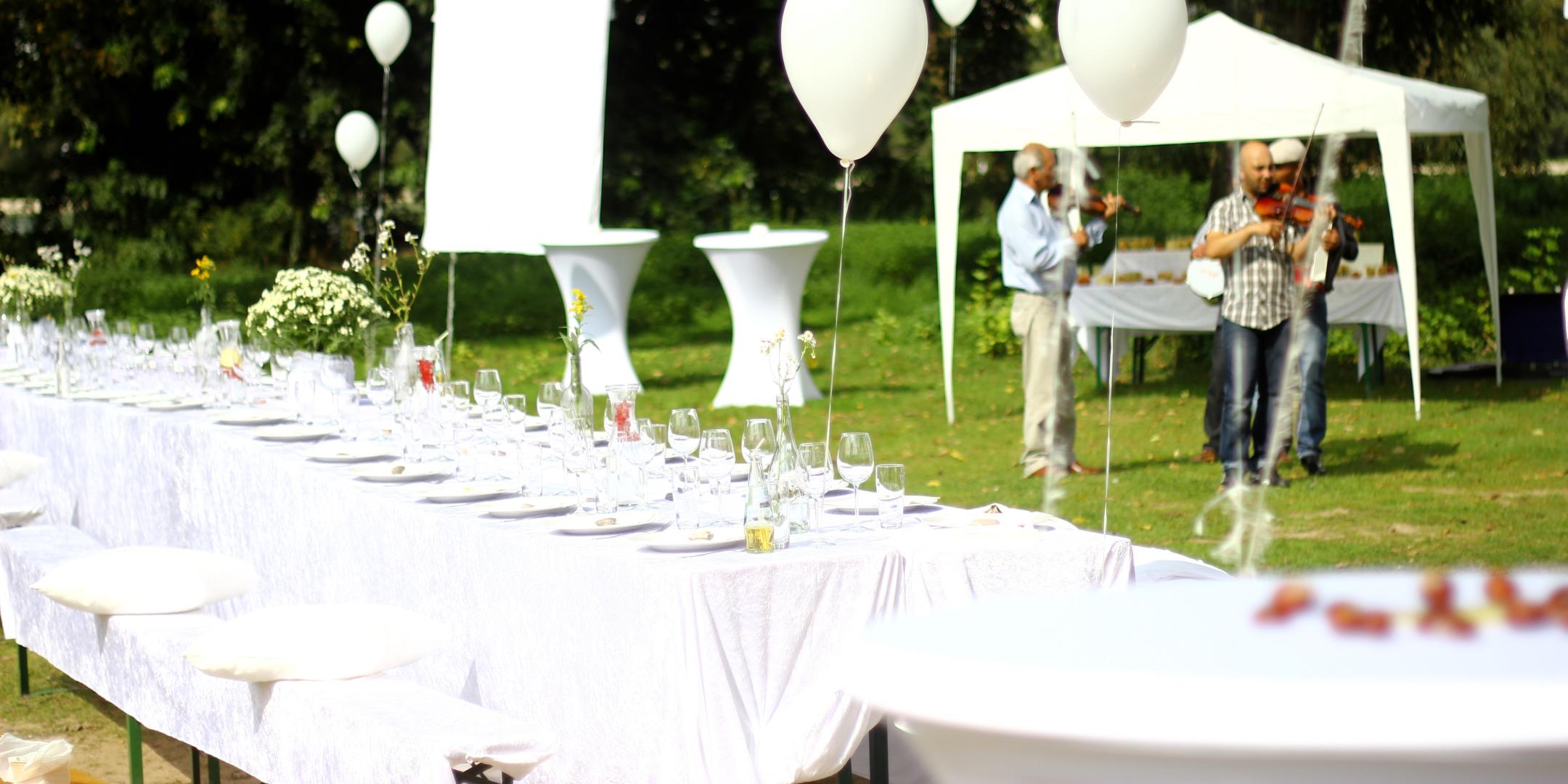 Sommerfest White Summer Event by Helikon-Events